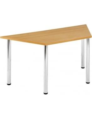 Trapezoidal Chrome Leg Flexi-Table
