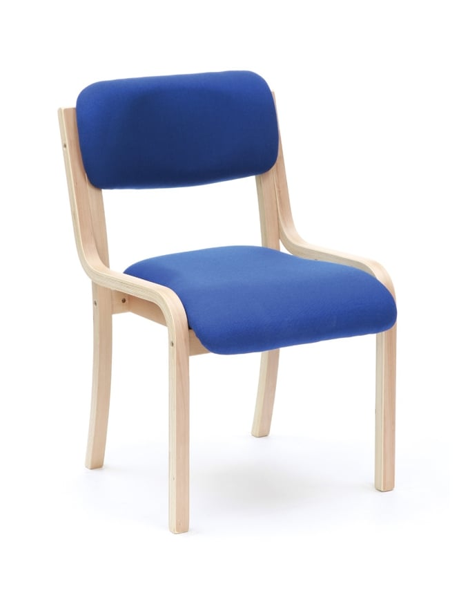 Woodstock Leabank Turner Stacking Fabric Chair