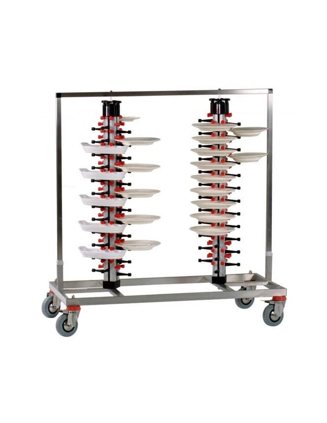 WPF Twin Column Mobile Plate Mate (96 Plates)