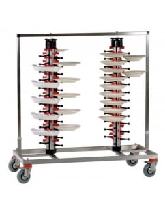 Twin Column Mobile Plate Mate (96 Plates)
