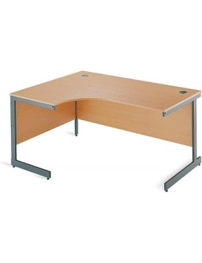 Value Left Hand Ergonomic Desk