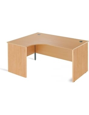 Value Left Hand Ergonomic Panel Desk