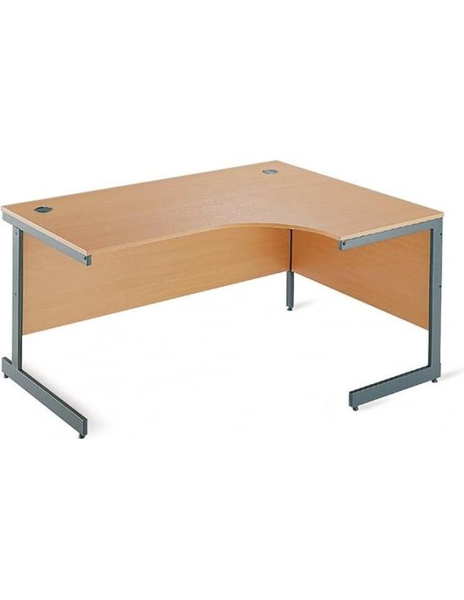 Dams Value Right Hand Ergonomic Desk
