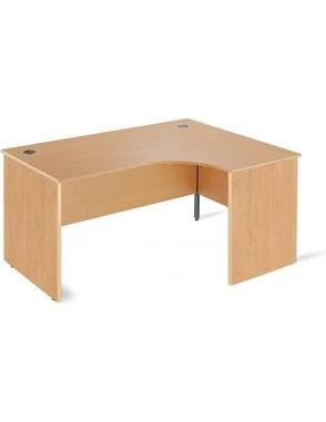 Value Right Hand Ergonomic Panel Desk