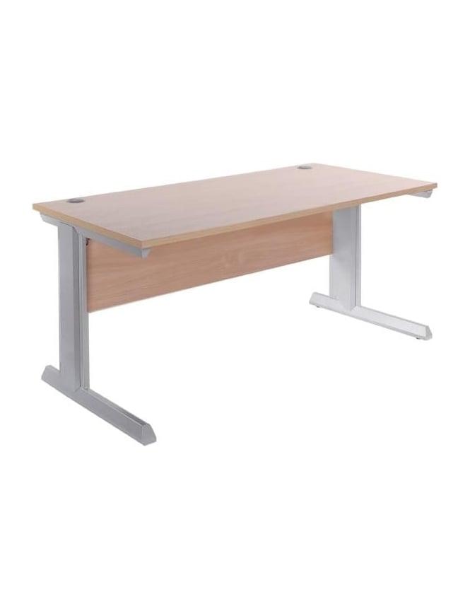 Dams Vivo II 800mm Deep Straight Desk