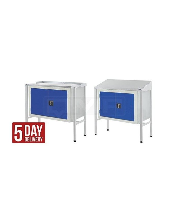 QMP Workstation with Double Cupboard