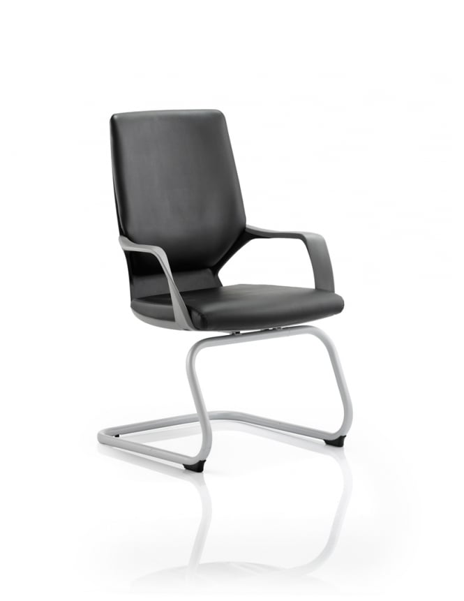 Dynamic Furniture Xenon Visitor Leather Chair