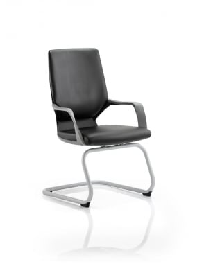 Xenon Visitor Leather Chair