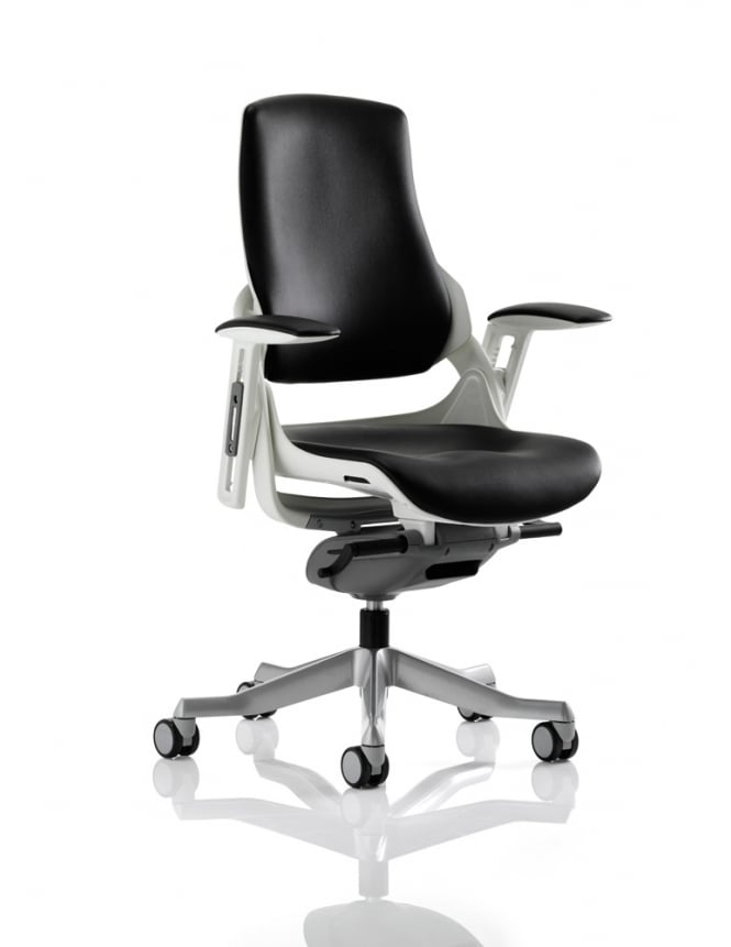 Dynamic Furniture Zure Executive Black Leather Chair