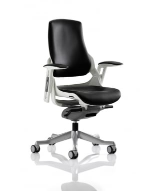 Zure Executive Black Leather Chair