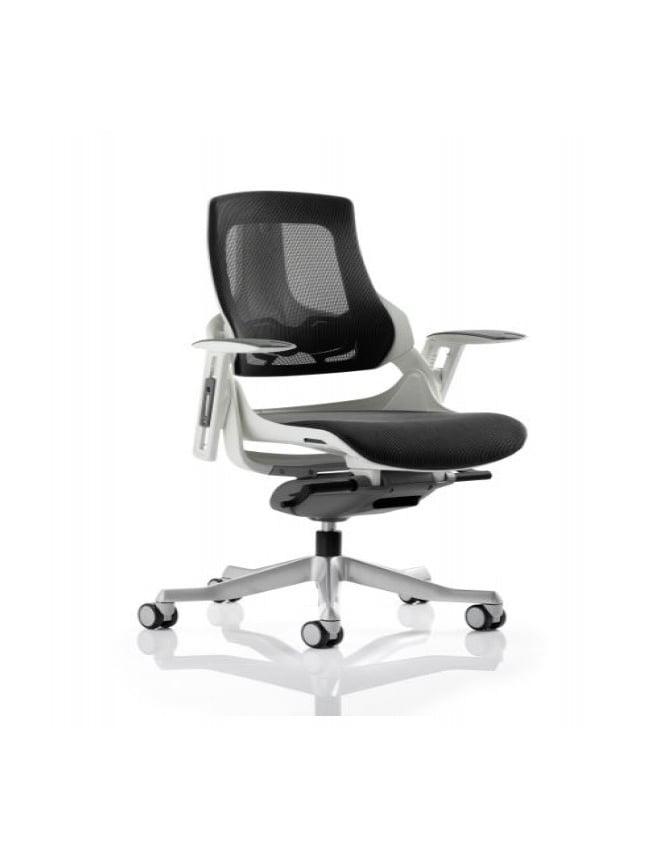 Dynamic Furniture Zure Executive Charcoal Mesh Chair